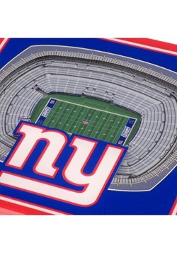 New York Giants 3D Stadium Coasters Alt 1