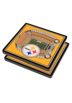 Pittsburgh Steelers 3D Stadium Coasters