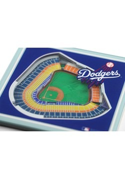 Los Angeles Dodgers 3D Stadium Coasters Alt 1