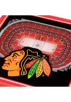 Chicago Blackhawks 3D Stadium Coasters Alt 1