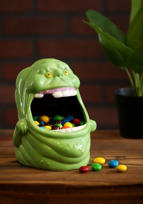 Ghostbusters Slimer Big Mouth Candy Dish