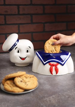 Ghostbusters Stay Puft Cookie Jar Alt 1