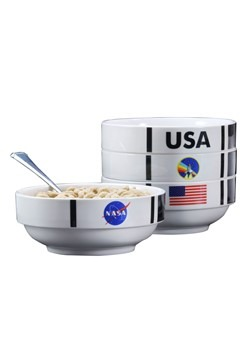 NASA Shuttle Stackable Bowl Set Alt 1