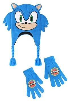 Sonic the Hedgehog Peruvian Hat & Glove Set update