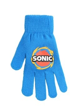Sonic the Hedgehog Peruvian Hat & Glove Set