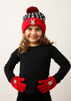 Minnie Mouse Cuffed Winter Hat Set with Gloves update