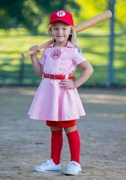 League of Their Own Dottie Luxury Toddler Costume