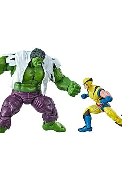Marvel Legends Wolverine and Hulk 6-Inch Action Figure 2-Pac