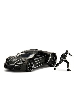 Black Panther & Lykan Hypersport 1:24 Die Cast Veh