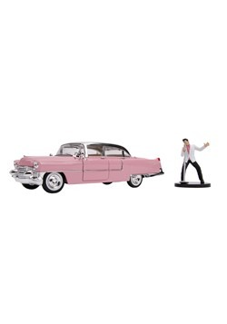 1955 Cadillac Fleetwood w/ Elvis Figure 1:24 Scale