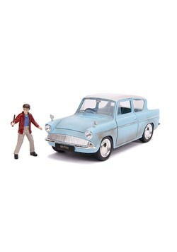 Harry Potter 1959 Ford Anglia w/ Figure 1:24 Scale