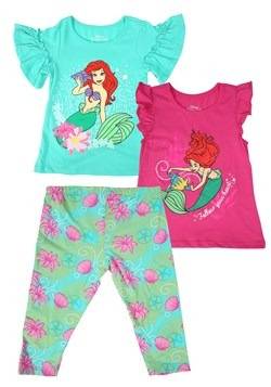 Little Mermaid 3 Piece Set