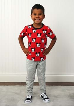 Mickey Mouse Tee and French Terry Pant Set