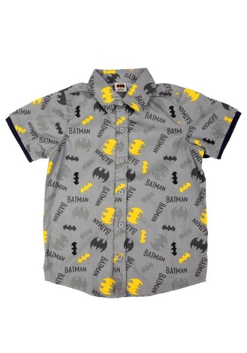 Batman Button Up Shirt Alt 1
