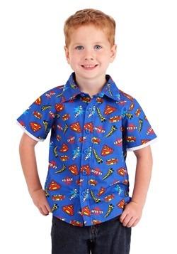 Superman Button Up Shirt