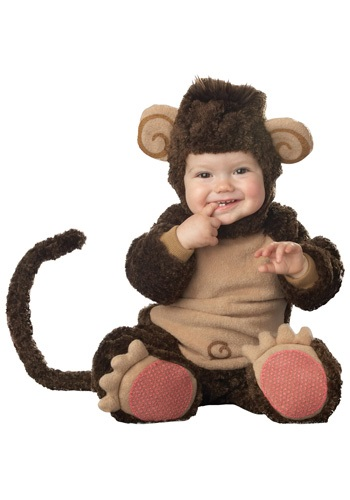 Lil Monkey Costume For Infants