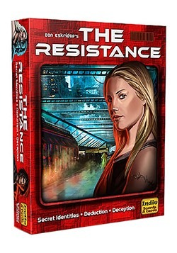 The Resistance Board Game (3rd Edition)