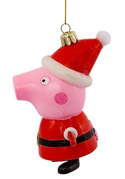 Peppa Pig Glass Ornament Alt 2