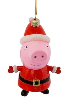 Peppa Pig Glass Ornament Alt 3
