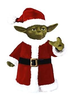 Yoda Santa Treetopper/Tablepiece
