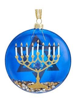 Hanukkah Candle Pattern Ornament