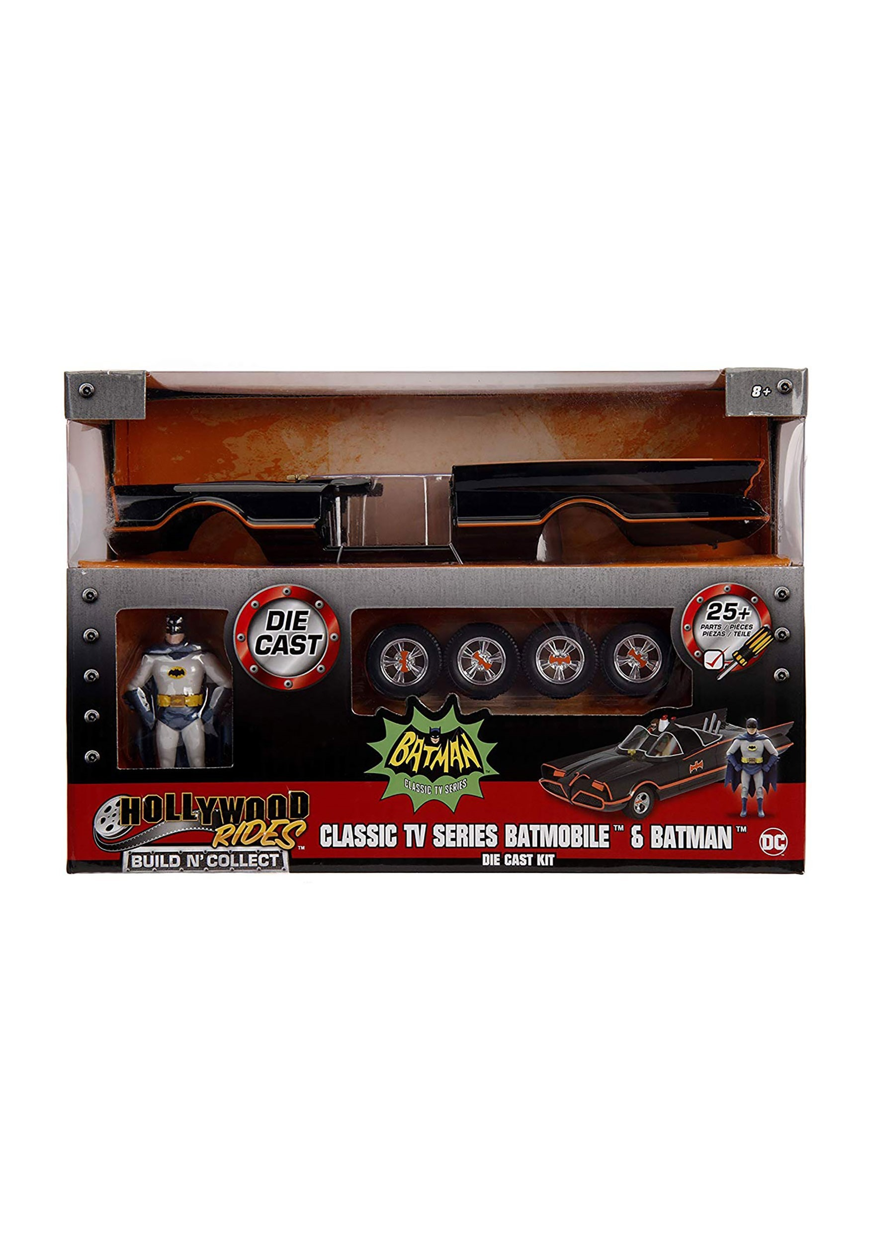 Batmobile Build N' Collect 1966 Classic TV Series