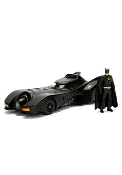 Build N' Collect 1989 Batmobile 1:24 Diecast Model Alt 2