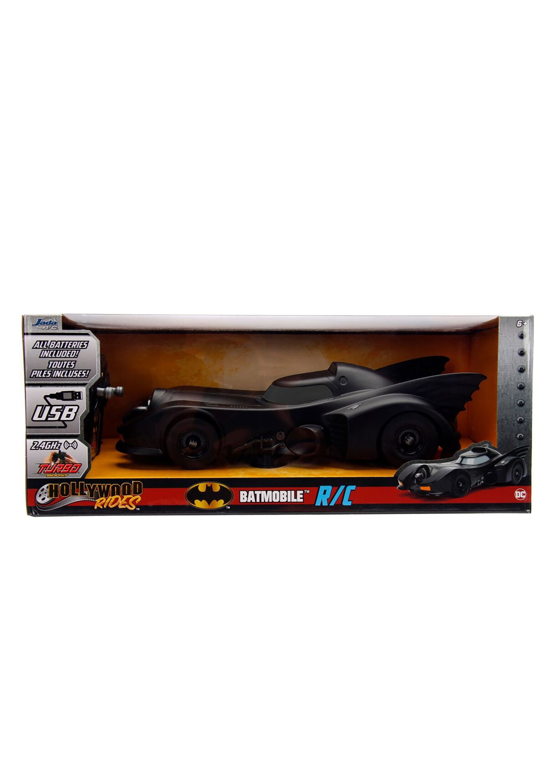 1:16 R/C 1989 Batman Batmobile