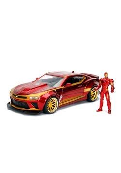 Iron Man & Chevy Camaro 1:24 Die-Cast Vehicle w/ F Alt 1