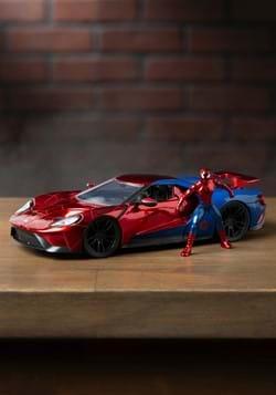 Spider-Man & Ford GT 1:24 Die-Cast Vehicle w/ Figu-1