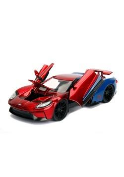 Spider-Man & Ford GT 1:24 Die-Cast Vehicle w/ Figu Alt 2