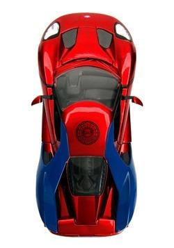 Spider-Man & Ford GT 1:24 Die-Cast Vehicle w/ Figu Alt 4