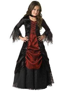 Gothic Vampira Costume For Girls