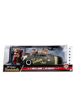DC Bombshells Harley Quinn 1:24 Die Cast Vehicle w