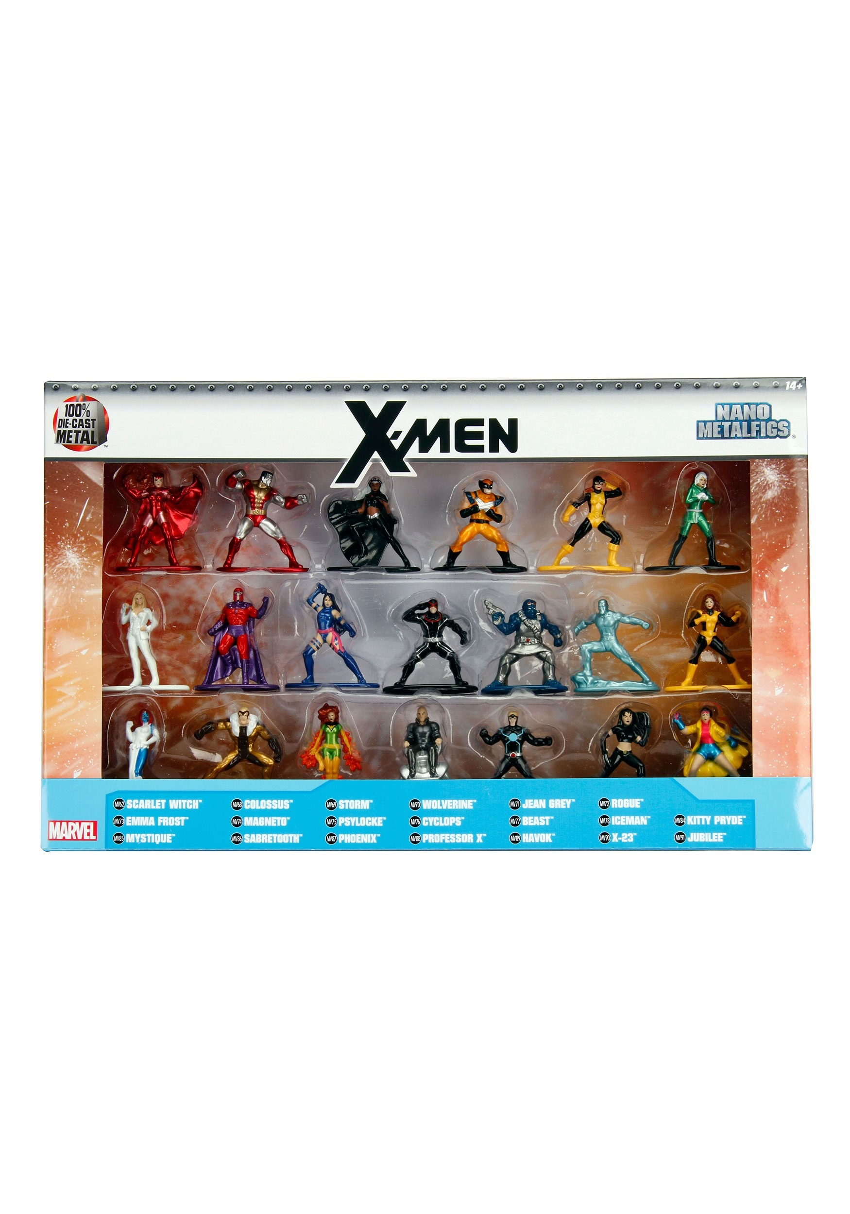 20 Pack Nano Figs X-Men