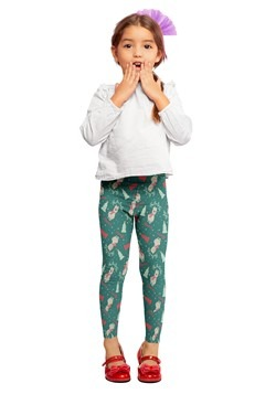 Two Left Feet Fa La La La Llama Girl's Leggings