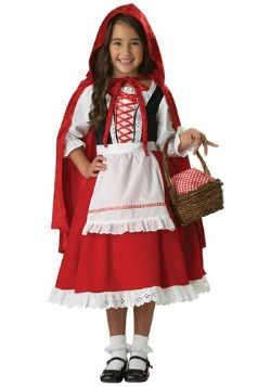 Classic Little Red Riding Hood Girls Costume