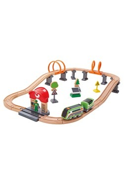 Solar Power Circuit Train Track