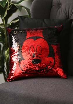 MICKEY MOUSE 16X16 SEQUIN PILLOW-update