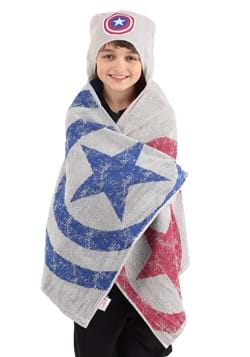 CAPT AMERICA ICON CAPE HOODED UPDATE