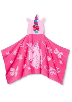 "Jojo Unicorn 24""x50"" Hooded Towel"