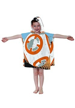 STAR WARS BB8 HOODED PONCHO