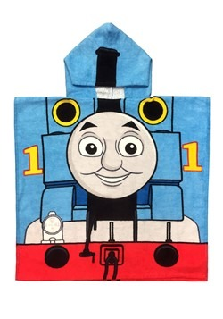 THOMAS THE TANK HOODED PONCHO
