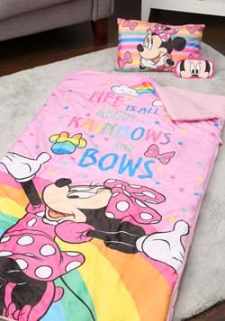 MINNIE RAINBOWS 3PC SLEEPOVER SET
