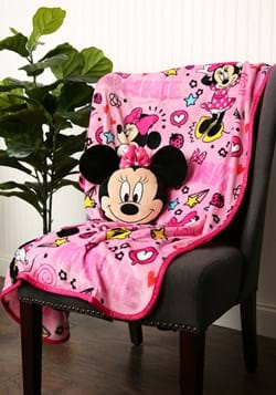 MINNIE NOGGINZ SET & TRAVEL BLANKET