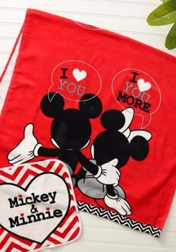 MICKEY/MINNIE LUV U MORE 2PC FR BATHROOM SET