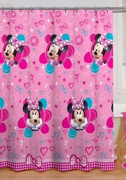 MINNIE MF SHOWER CURTAIN