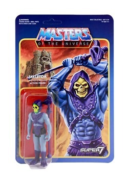 Masters of the Universe Reaction Skeletor Action Figure