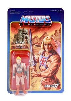 Masters of the Universe Reaction He-Man Action Figure