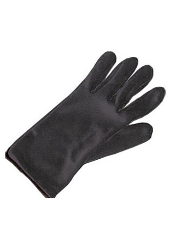 Kids Black Costume Gloves